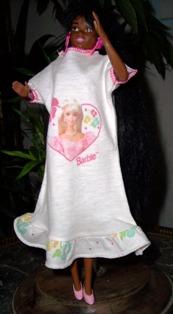 Arrivée d'une jolie Barbie